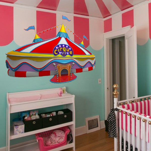 Stickers for Kids: Circus Tent