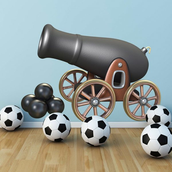Stickers for Kids: Pirate cannon