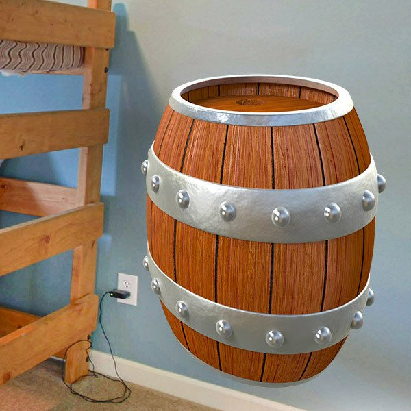 Stickers for Kids: Pirate barrel
