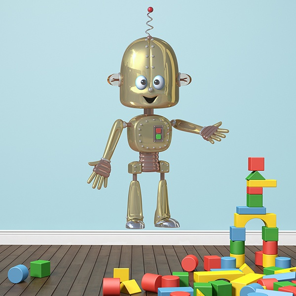 Stickers for Kids: Robot 3