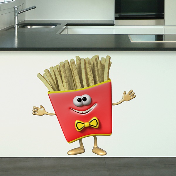 Stickers for Kids: Serving of Chips