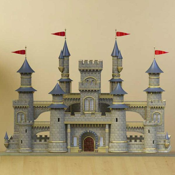 Stickers for Kids: The great castle
