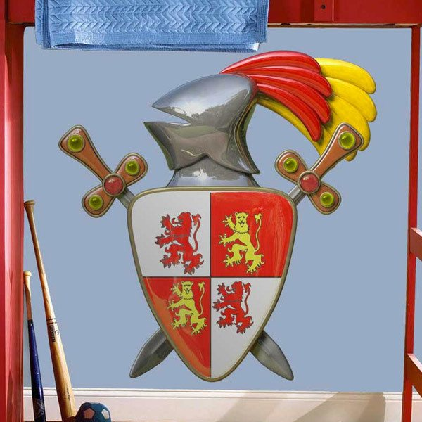 Stickers for Kids: Coat of arms