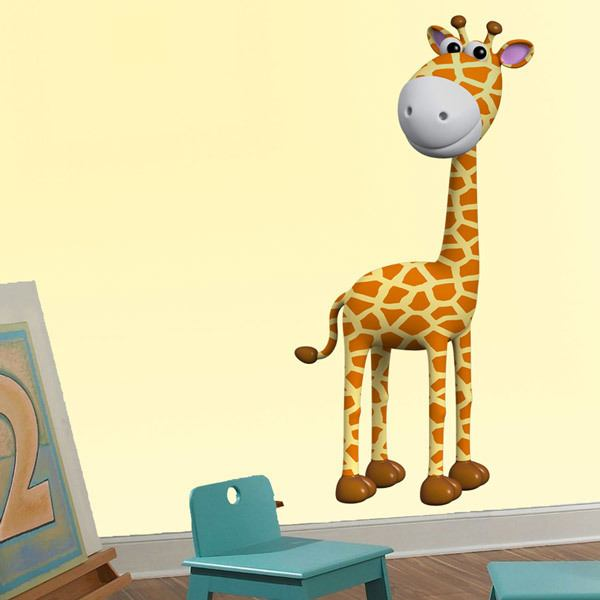 Stickers for Kids: Cheerful giraffe