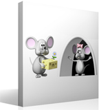 Stickers for Kids: The Perez Mouse and his wife 4