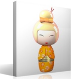 Stickers for Kids: Doll Kokeshi Hijioro 4