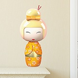 Stickers for Kids: Doll Kokeshi Hijioro 5