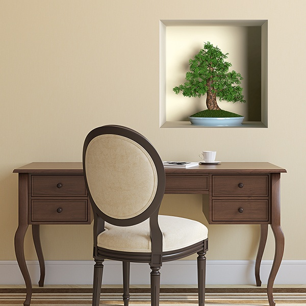 Wall Stickers: Bonsai niche