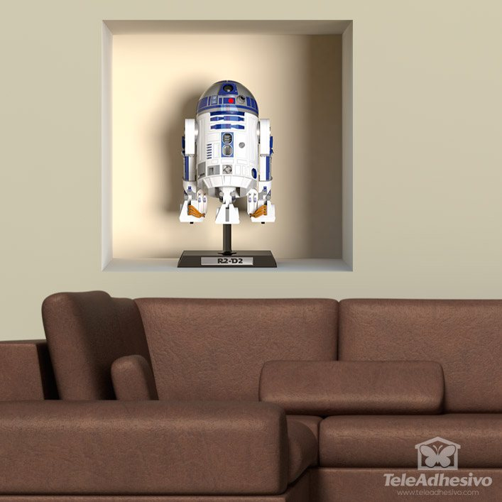 Wall Stickers: R2-D2 niche