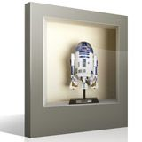 Wall Stickers: R2-D2 niche 4