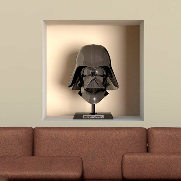 Wall Stickers: Darth Vader niche