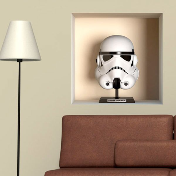 Star wars wall stickers for Autocollant mural star wars