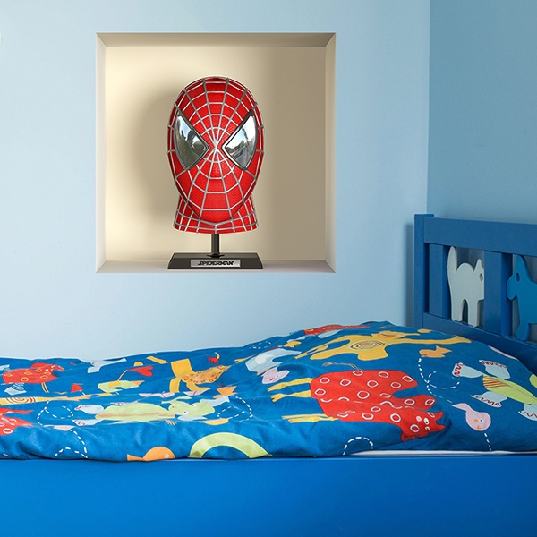 Wall Stickers: Spiderman buste niche
