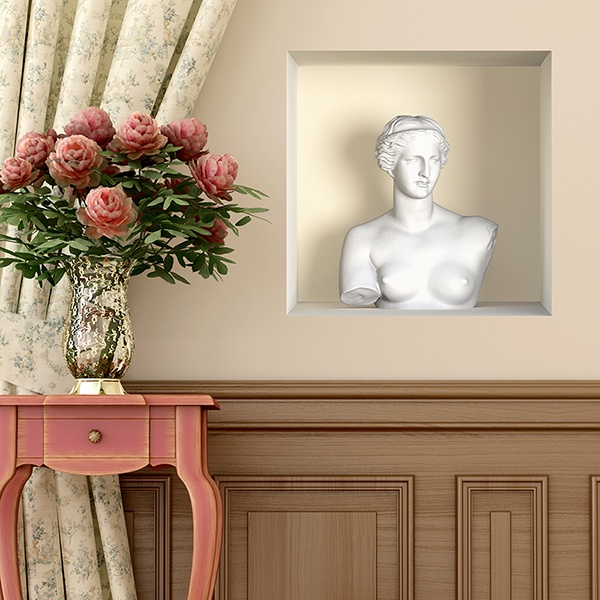 Wall Stickers: Aphrodite buste niche