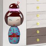 Stickers for Kids: Doll Kokeshi Sakunami 3