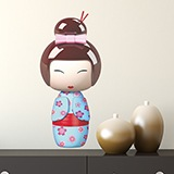 Stickers for Kids: Doll Kokeshi Sakunami 5