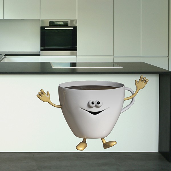 Stickers for Kids: Coffee