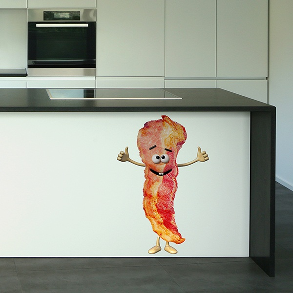 Stickers for Kids: Bacon