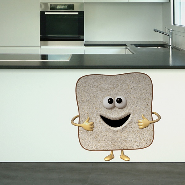Stickers for Kids: Toast