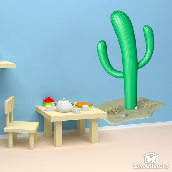 Stickers for Kids: Cactus