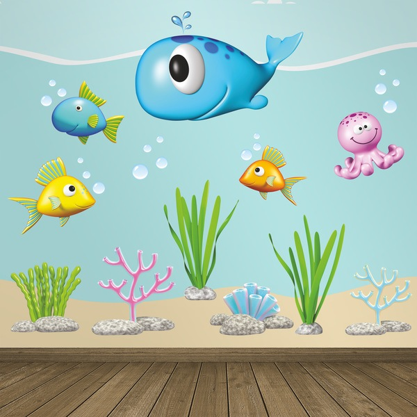 Stickers for Kids: Animals Ocean II