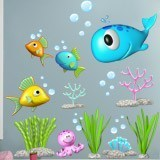 Stickers for Kids: Kit under the sea 3