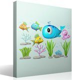 Stickers for Kids: Kit under the sea 4