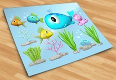 Stickers for Kids: Kit under the sea 5