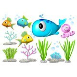 Stickers for Kids: Kit under the sea 6