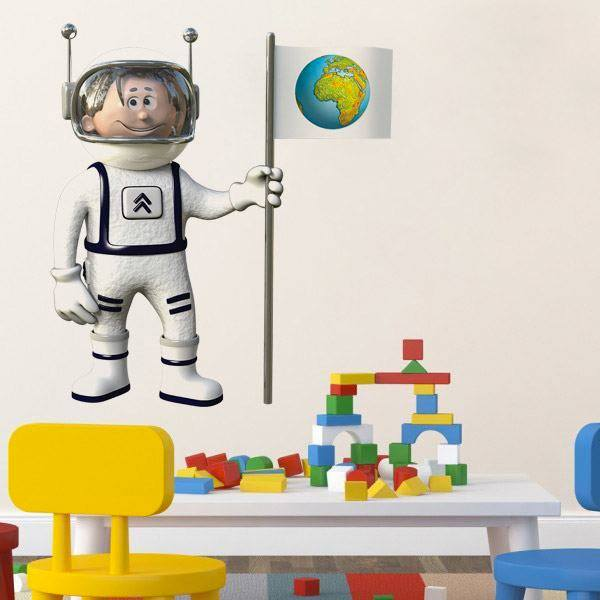 Stickers for Kids: Spaceman