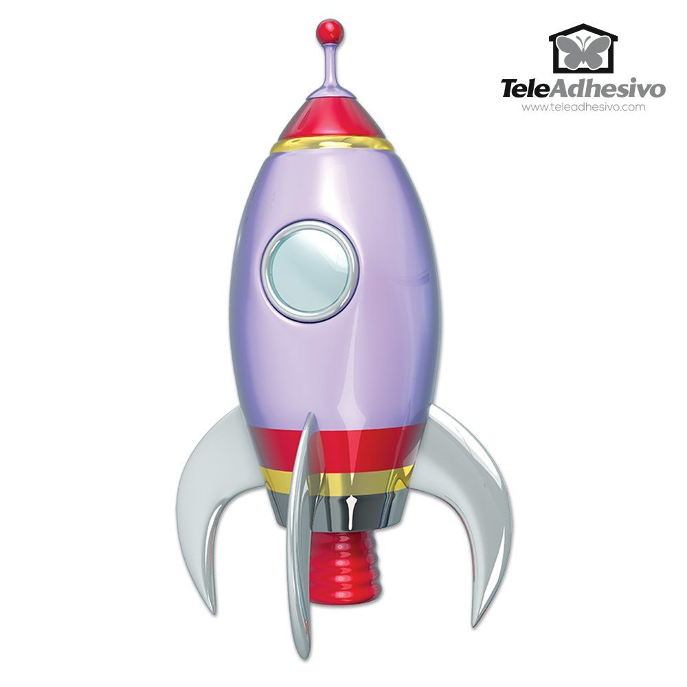 stickers for kids space rocket