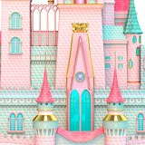 Stickers for Kids: Grand Princess Castle 3
