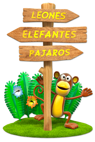 Stickers for Kids: Monkey Animals Jungle Sign 0