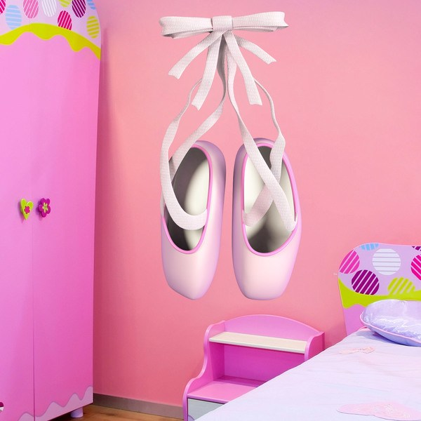Stickers for Kids: Ballet shoes