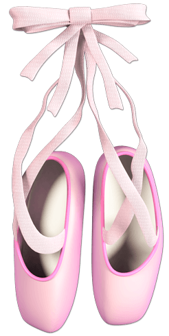 Stickers For Kids Ballet Shoes