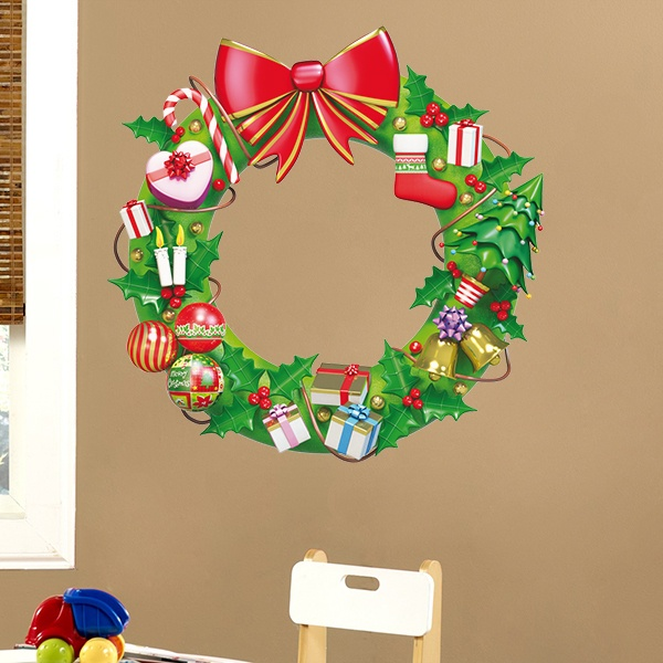 Wall Stickers: Crown Christmas