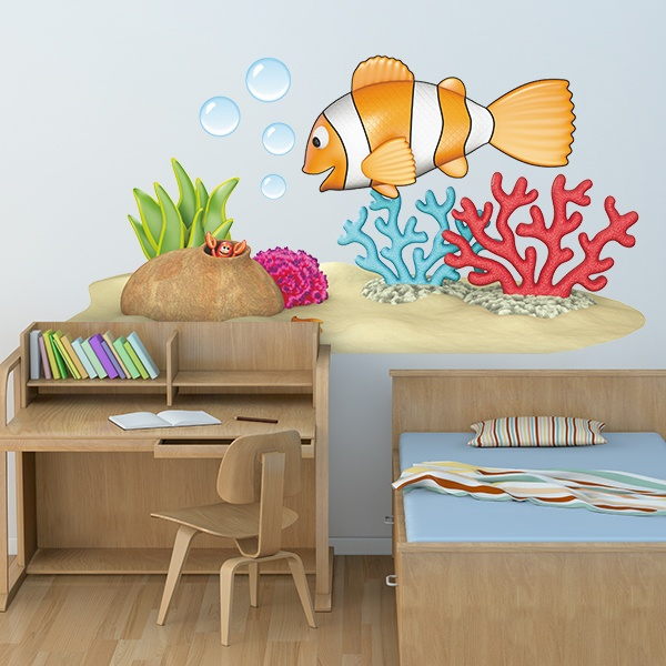 Stickers for Kids: Clown fish
