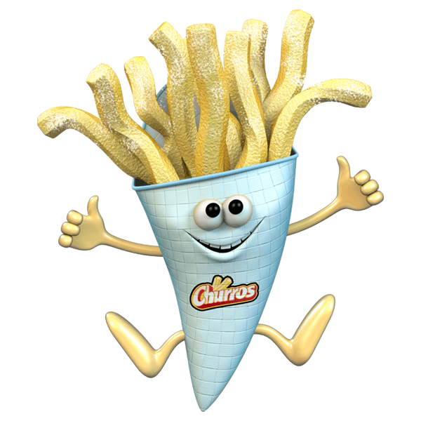 Stickers for Kids: Churros
