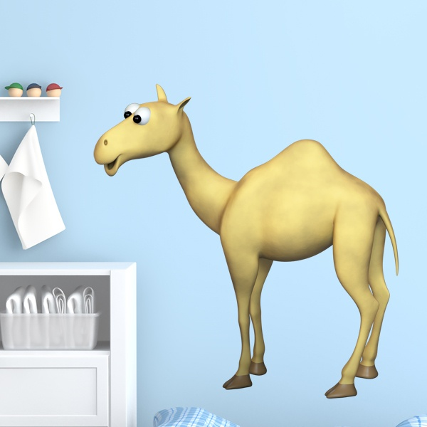 Stickers for Kids: Dromedary
