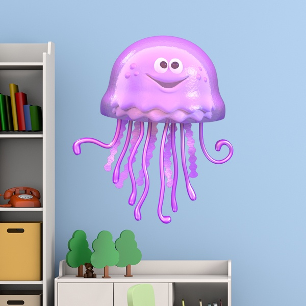 Stickers for Kids: Jellyfish