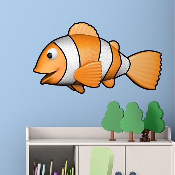 Stickers for Kids: Clown Fish 2
