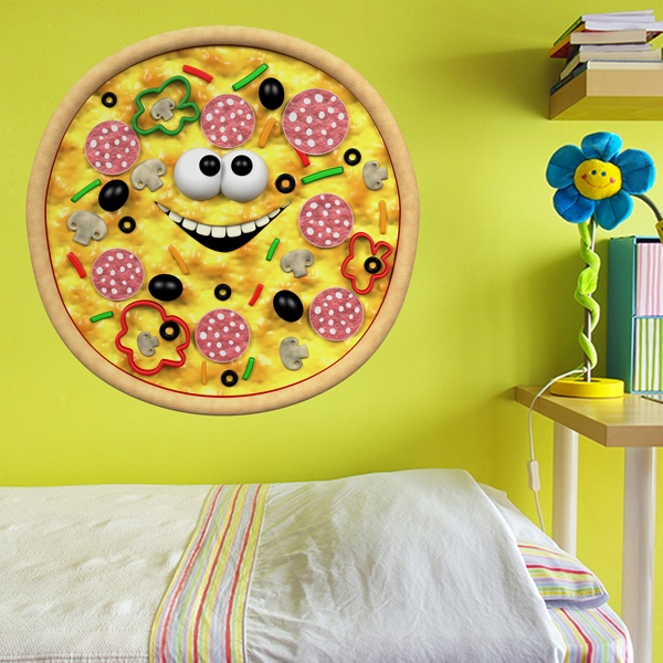 Stickers for Kids: Kid pizza