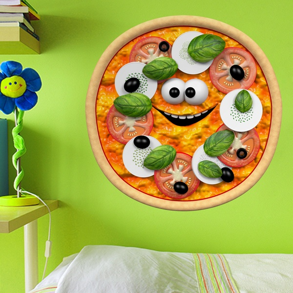Stickers for Kids: Pizza 1