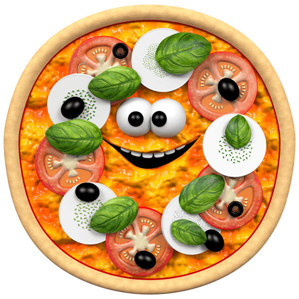 Stickers for Kids: Pizza