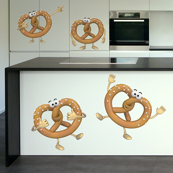 Stickers for Kids: Bretzels