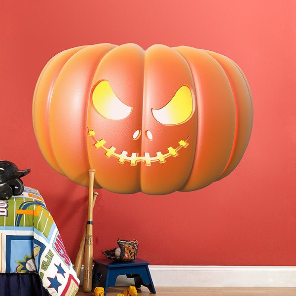 Wall Stickers: Pumpkin of Terror