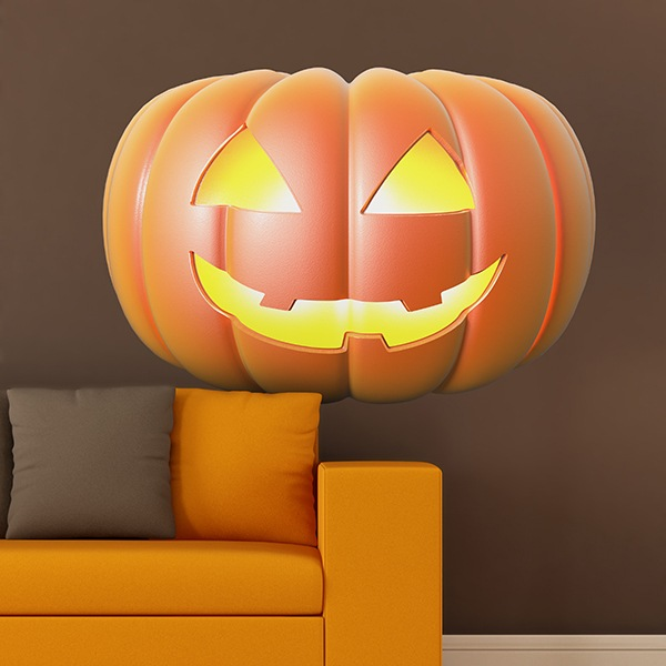 Wall Stickers: Halloween Pumpkin