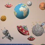 Stickers for Kids: Space Kit 3
