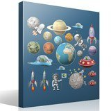 Stickers for Kids: Space Kit 4