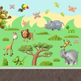 Stickers for Kids: Animals of the African jungle 2 4
